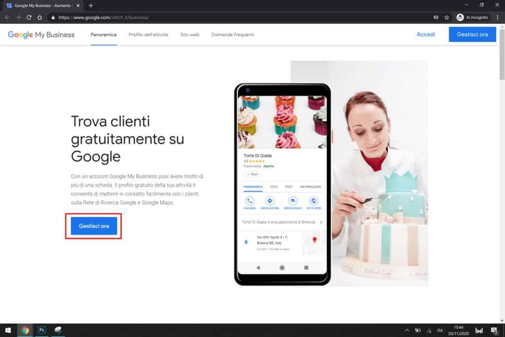 trova clienti gratuitamente su google my business