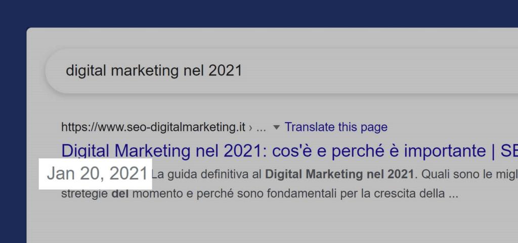 digital marketing nel 2021